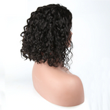 Bob Curly 360 Lace Frontal Wig Human Hair Front Wigs Pre Plucked With Baby Hair