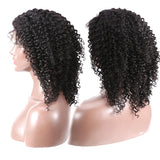13x6 Short Bob Deep Wave Lace Front Human Hair Wig Pre Plucked With Baby Hair For Women