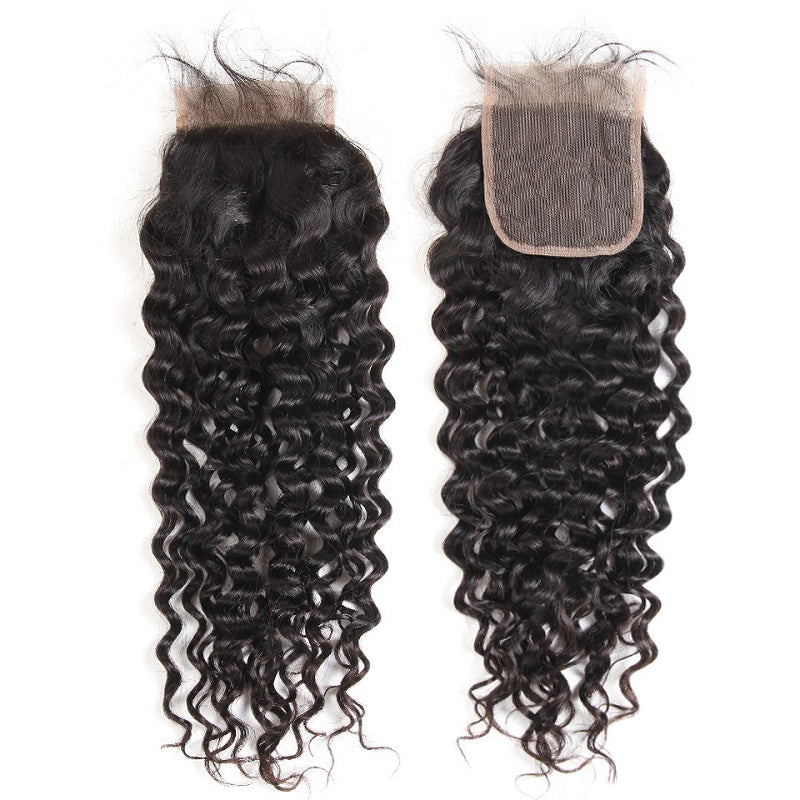 "[Abyhair 8A] Natural Wave 4""x4"" Lace Closure Pre Plucked with Baby Hair"