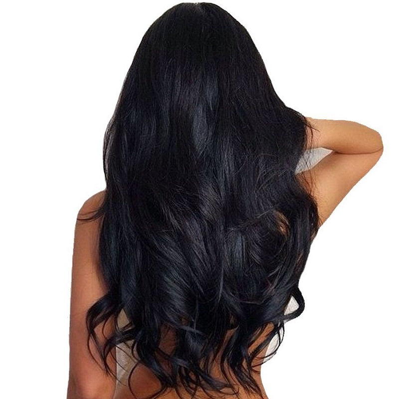 [Abyhair 8A] Indian 3 Bundles With 4x4 Lace Closure Body Wave Remy Human Hair