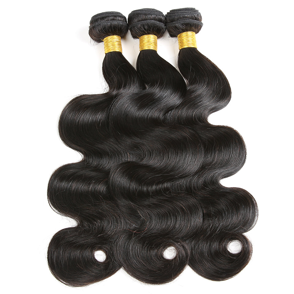 [Abyhair 9A] 3 Bundles Brazilian Body Wave Hair Weft Human Hair Weave