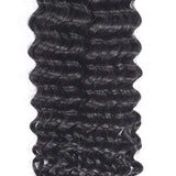 [Abyhair 10A] Indian Deep Wave Hair 4 Bundles 100% Human Hair Weave Extensions