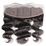 [Abyhair 8A] Body Wave 4 Bundles With Lace Frontal 13x4 Closure Peruvian Remy Hair