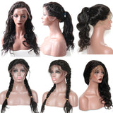 250% Density Body Wave 360 Lace Frontal Human Hair Wig Pre Plucked With Baby Hair