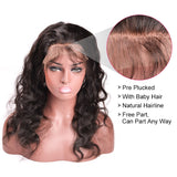 [Abyhair 9A] 360 lace Frontal Closure With 2 Bundles Indian Body Wave Hair Weave