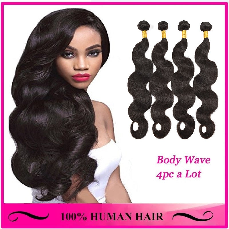[Abyhair 10A] Brazilian Body Wave Hair 4 Bundles 100% Human Hair Weave Extensions