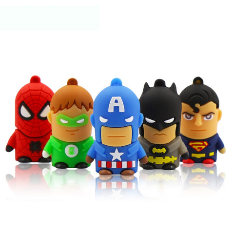 Superhero Usb flash drive