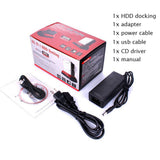 "3.5"" 2.5"" SATA IDE 2 Double Dock HDD Docking Station"