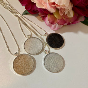 Leather and Hide - Pendants Necklaces