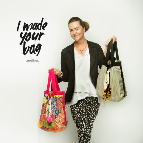 DEED bags founder Emma Bowd