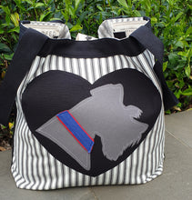 BESPOKE - WEAR YOUR DOG ON YOUR BAG - Schnauzer