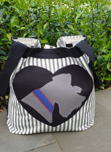 BESPOKE - WEAR YOUR DOG ON YOUR BAG - CUSTOM ORDER