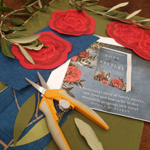 FASHIONISTA - BESPOKE Roses and Olive Leaves