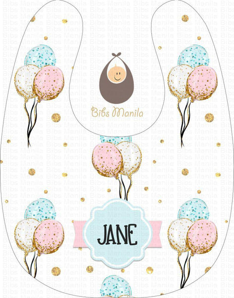 Balloon Sparkle Bibs