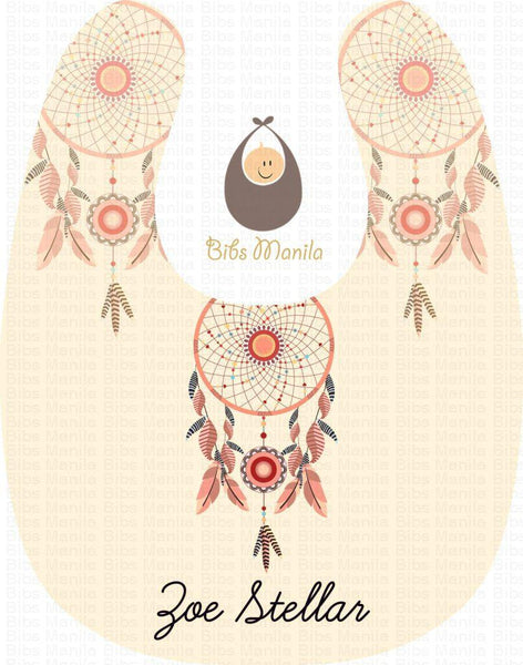 Be The Dream Catcher Personalized Baby Bib