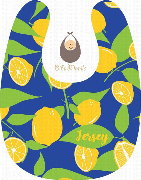 Blue Lemon Bibs