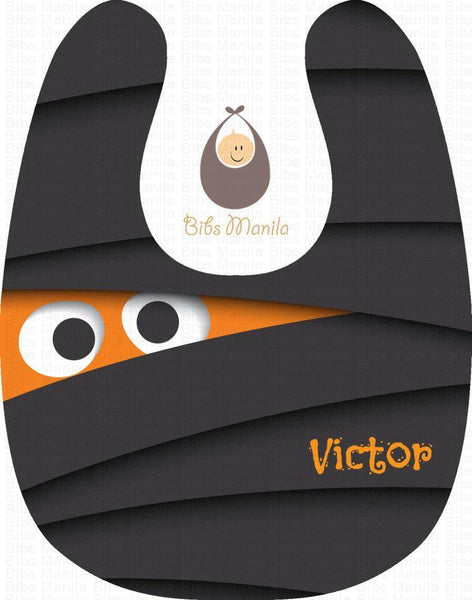 Boo Halloween Personalized Baby Bib
