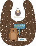 Cute Parent Bears Brown / With Snow Bibs