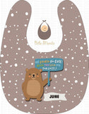 Cute Parent Bears Light Violet / With Snow Bibs