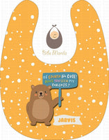 Cute Parent Bears Yellow / With Snow Bibs