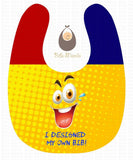 Design your Own Personalized Baby Bib