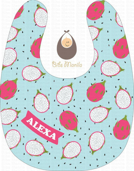 Dragonfruit Surprise Bibs