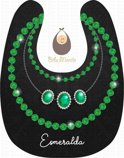 Emerald Necklace Bibs