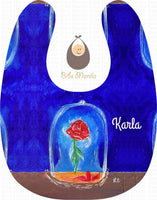 Hand-Painted Bib 23: Tale As Old Time Bibs