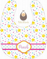 Honey Star Sprinkles Bibs