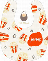 Movie Time Pop Bibs