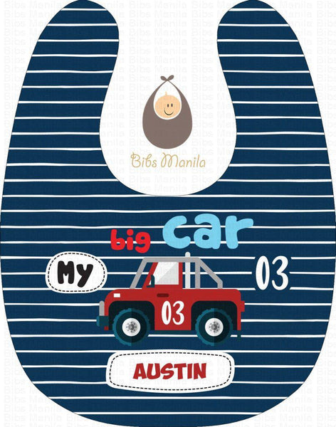 My Big Car Bibs