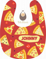 Pizza Party Bibs