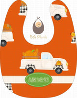 Pumpkin Surprise Bibs
