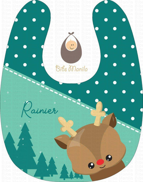 Reindeer And Polka Bibs