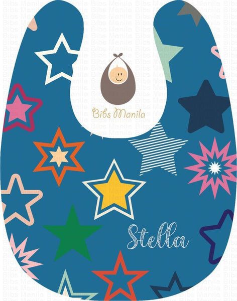 Shower Of Stars Bibs