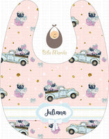 Truck Of Gifts Bibs