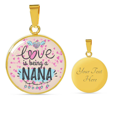Love is being a NANA - 18K Gold Necklace