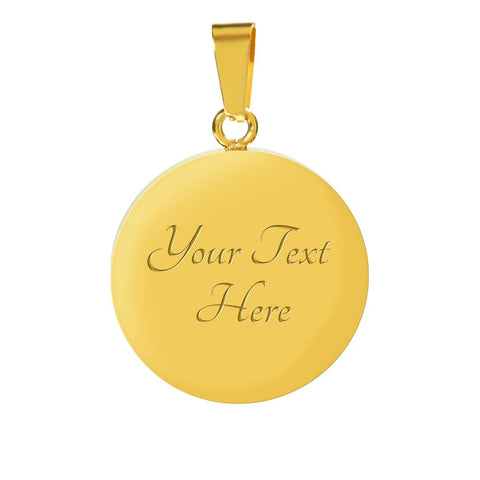 Image of Mom of an Angel - 18K Gold Bangle