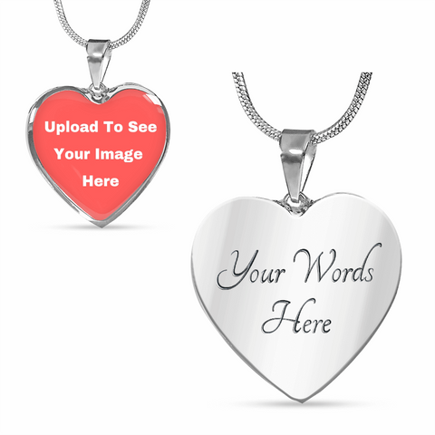 Custom Memorial Necklace Engraved
