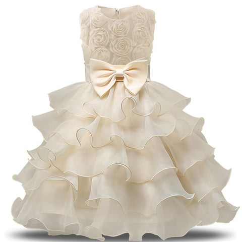 Image of Tiered Ball Gown
