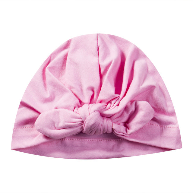 Bowknot Turban Hat