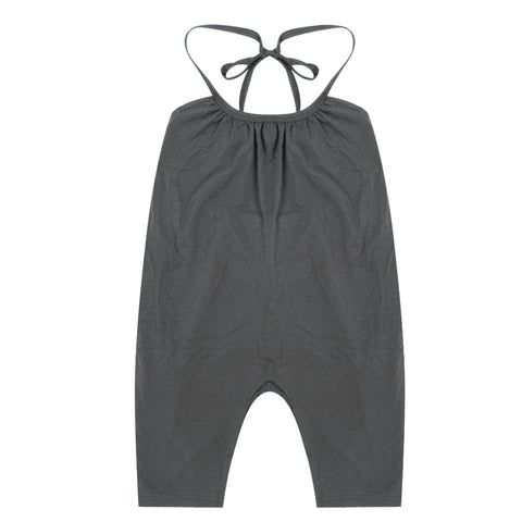Image of Children's Trendy Fashion Jumpsuit  - Grey