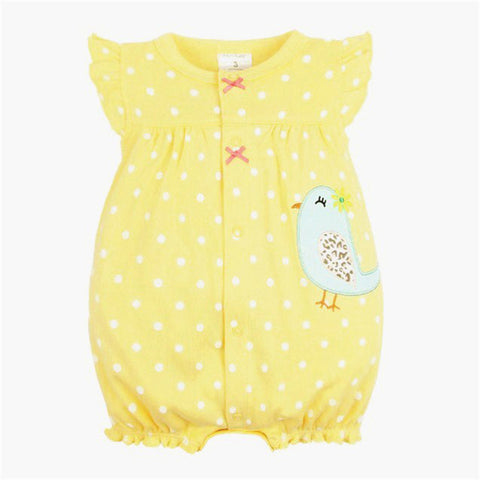 Image of Polka Dot Summer Romper