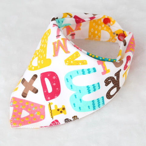 Double Layer Cotton Bandana Bib