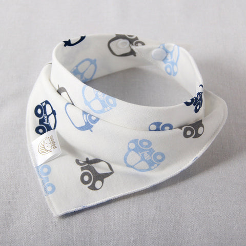 Image of Double Layer Cotton Bandana Bib