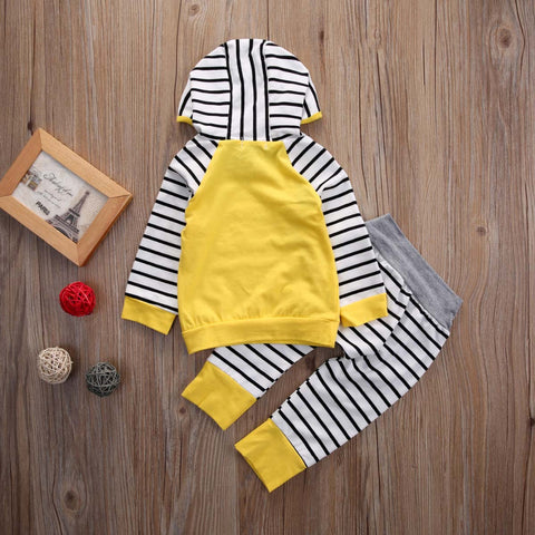 Image of 2-Piece Hoodie Top & Pants Set