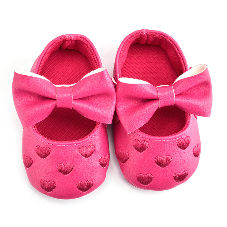 Baby Heart Moccasins