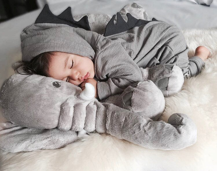 Hooded Dinosaur Baby Jumpsuit