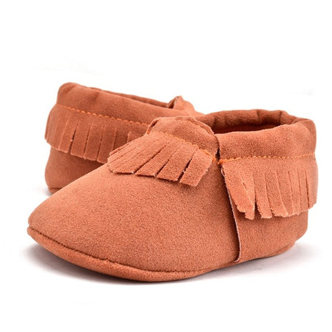 Soft Sole Suede Moccasins