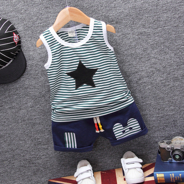 Star Shirt and Shorts Set